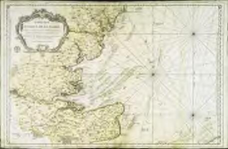 Carte des entrées de la Tamise