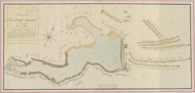 Geometrický plán Spolského rybníka, chalup na jeho hrázi a přilehlých pozemků 1