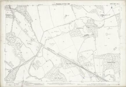 Surrey XXVII.8 (includes: Godstone; Oxted; Tandridge; Woldingham) - 25 Inch Map