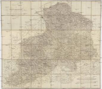 General-Carte von Westgallizien