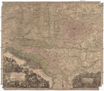 Novißima et accuratißima Hungariae cum circumjacentibus regnis et principatibus in mappa geographica designatio