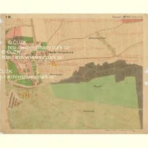 Grussbach - m0920-1-007 - Kaiserpflichtexemplar der Landkarten des stabilen Katasters