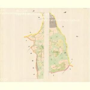 Witsche (Wiče) - m3395-1-007 - Kaiserpflichtexemplar der Landkarten des stabilen Katasters