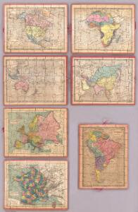 Seven Puzzle Maps of the World.