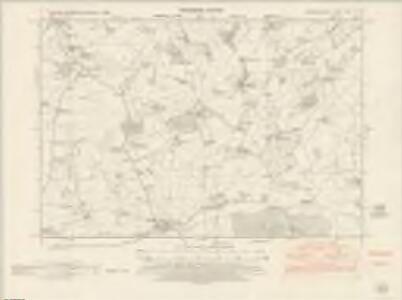 Herefordshire XVIII.SW - OS Six-Inch Map
