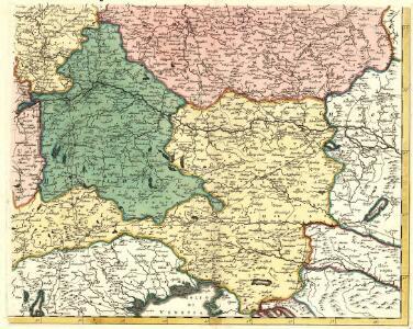 Postarum seu Veredariorum Stationes Per Germaniam et Provincias Adiacentes.