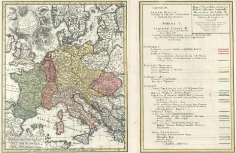 Tab. IV. Imperii Francici vel Romano German S. Romani Occid.