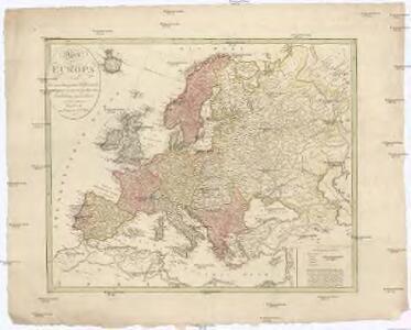Karte von Europa nach den zuverlässigsten Hülfsmitteln und seiner neuesten politischen Eintheilung gezeichnet