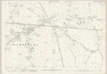 Cheshire XVIII.3 (includes: Altrincham; Manchester) - 25 Inch Map