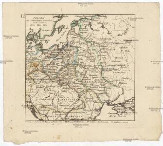 Polska za Stanisława Augusta podzielona 1772, 1793, 1795