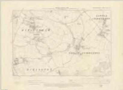 Worcestershire XLVIII.NE - OS Six-Inch Map