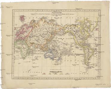 Planiglob in Mercators Projection