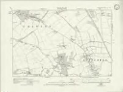 Hampshire & Isle of Wight XL.NE - OS Six-Inch Map