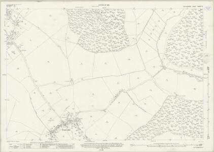 Oxfordshire XXXIV.10 (includes: Forest Hill with Shotover; Holton; Stanton St John; Waterperry) - 25 Inch Map