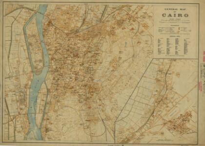 Cairo [General map of] (1924)