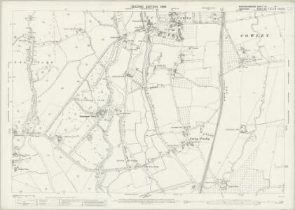 Buckinghamshire LIV.13 (includes: Iver; Uxbridge; Yiewsley and West Drayton) - 25 Inch Map