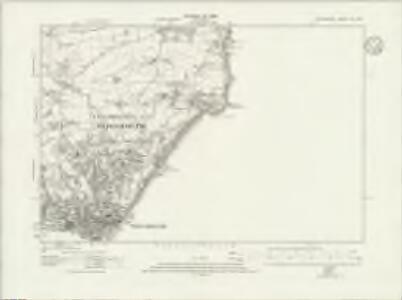Devonshire CX.NE - OS Six-Inch Map