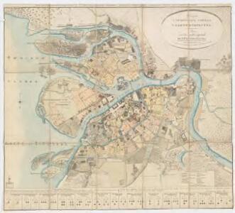 <Plan stolichnago goroda Sanktpeterburga : Plan de la ville capitale de St. Petersbourg