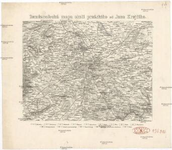 Zeměznalecká mapa okolí pražského