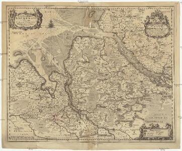 Ducatus olim episcopatus Bremensis et ostiorum Albis et Visurgis fluviorum, novissima descriptio