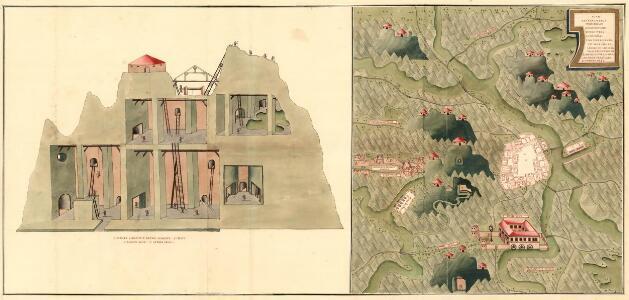 Plan des Bergwergs Weispriach