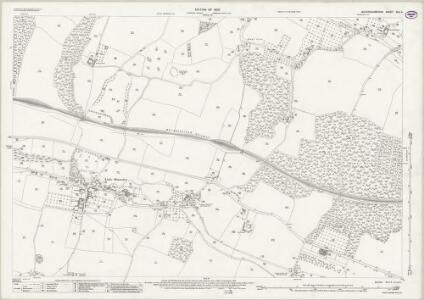 Buckinghamshire XLII.4 (includes: Amersham; Little Missenden) - 25 Inch Map