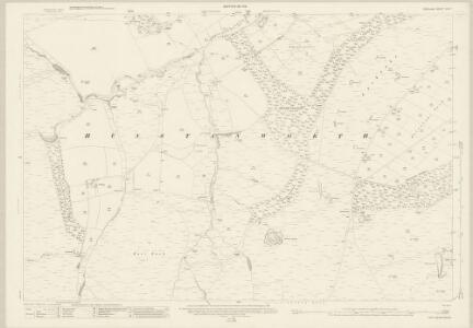 Durham XVI.7 (includes: Hunstanworth) - 25 Inch Map
