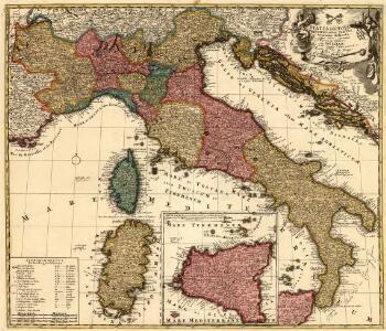 Italia iam Tota, Principes in suas Partes