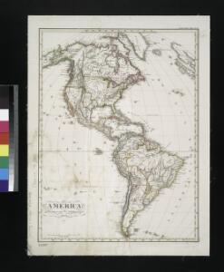 America / gezeichnet von F. v. Stülpnagel, 1843; gest. v. W. Behrens.