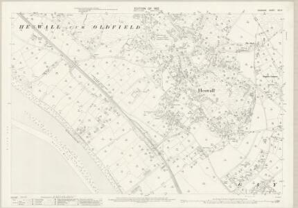 Cheshire XXII.5 (includes: Gayton; Heswall cum Oldfield) - 25 Inch Map