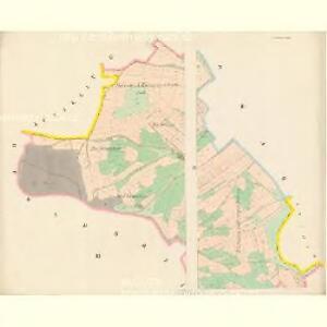 Slawikau (Slawikow) - c7026-1-001 - Kaiserpflichtexemplar der Landkarten des stabilen Katasters