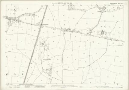 Worcestershire XXIX.3 (includes: Hadzor; Hanbury) - 25 Inch Map