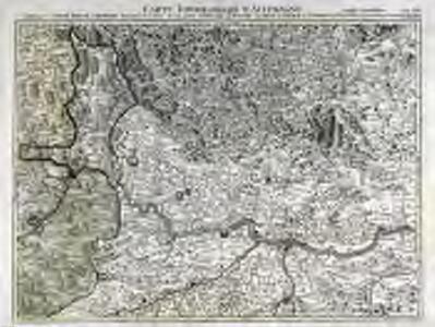Carte topographique d'Allemagne contenant l'arche duché d'Autriche superieur de l'Enns