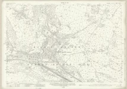 Yorkshire CCXXX.1 (includes: Erringden; Hebden Royd; Heptonstall; Wadsworth) - 25 Inch Map