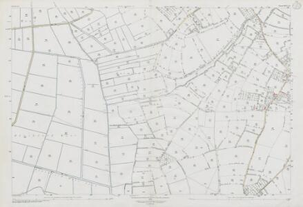 Somerset XXVI.15 (includes: Chapel Allerton; Mark; Wedmore) - 25 Inch Map