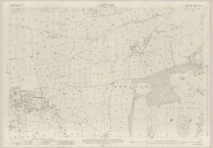 Derbyshire XXIII.3 (includes: Great Longstone; Hassop; Rowland) - 25 Inch Map