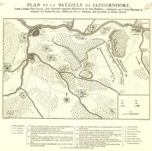 Plan de la Bataille de Jaegerndorf