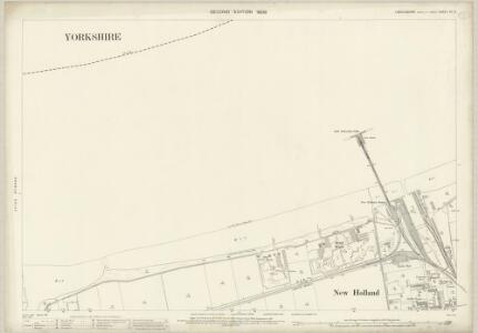 Lincolnshire VII.3 (includes: Barrow upon Humber; Sculcoates) - 25 Inch Map