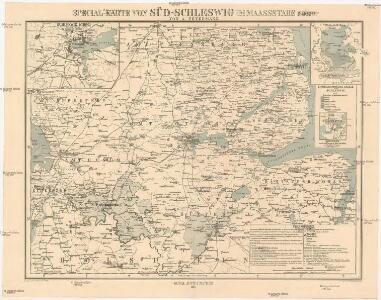 Special-Karte von Süd-Schleswig