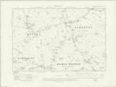Cheshire XXV.NE - OS Six-Inch Map
