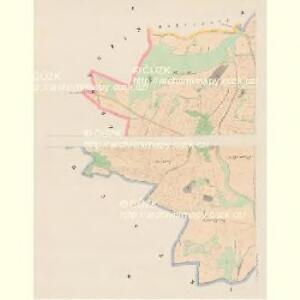 Gr.Nedanitz (Nedanice Welky) - c4993-1-001 - Kaiserpflichtexemplar der Landkarten des stabilen Katasters