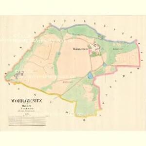 Wohrazenitz - c5389-1-001 - Kaiserpflichtexemplar der Landkarten des stabilen Katasters