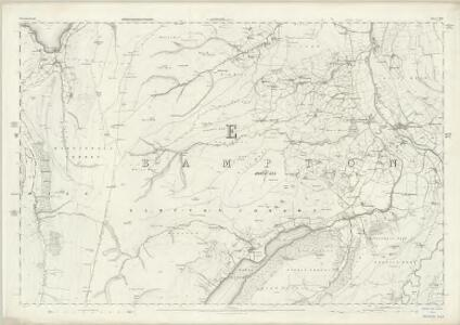 Westmorland XIII - OS Six-Inch Map