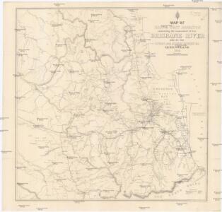 Map of east & west Moreton