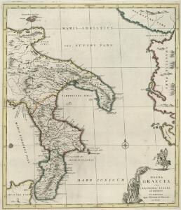 Magna Graecia sive Extrema Italia ad Orientem