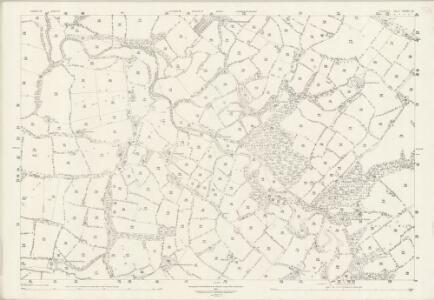 Cheshire XVIII.15 (includes: Ashley; Hale; Ringway) - 25 Inch Map