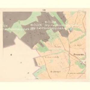 Przisnitz - c6247-1-006 - Kaiserpflichtexemplar der Landkarten des stabilen Katasters