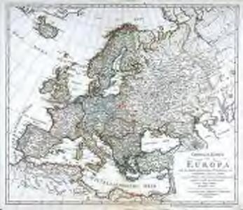 General Karte von Europa