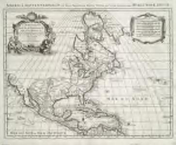 Amerique septentrionale divisée en ses principales parties.