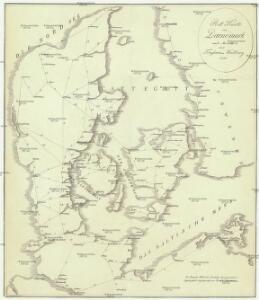 Post Karte von Daenemark nach Meilen